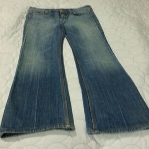 Women's 7 For All Mankind Flare Sz28/32Inseam